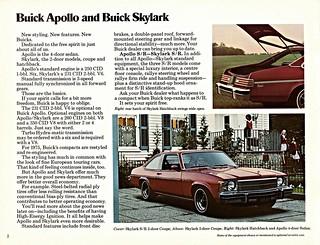 1975 Buick Skylark Hatchback & 2-Door Coupe (Canada)