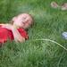 Asleep in the grass