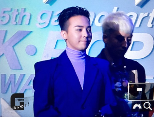Big Bang - The 5th Gaon Char K-Pop Awards - 17feb2016 - G-One - 09