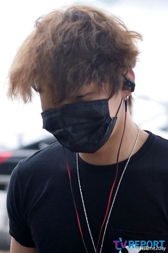 Big Bang - Incheon Airport - 26jun2015 - TV Report - 07