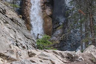 A trip to Silverton Falls Banff National Park Alberta Canada