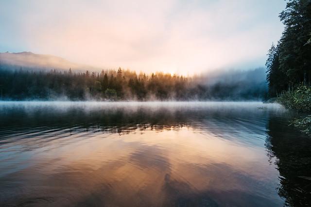 Morning at Lake Cauma