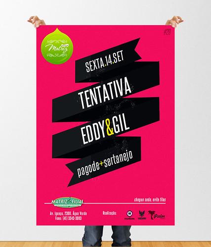 Poster - Festinha da Matriz by chambe.com.br