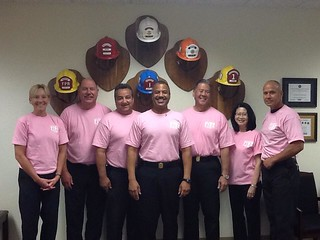 LAFD Goes Pink 2012. Click to enlarge...