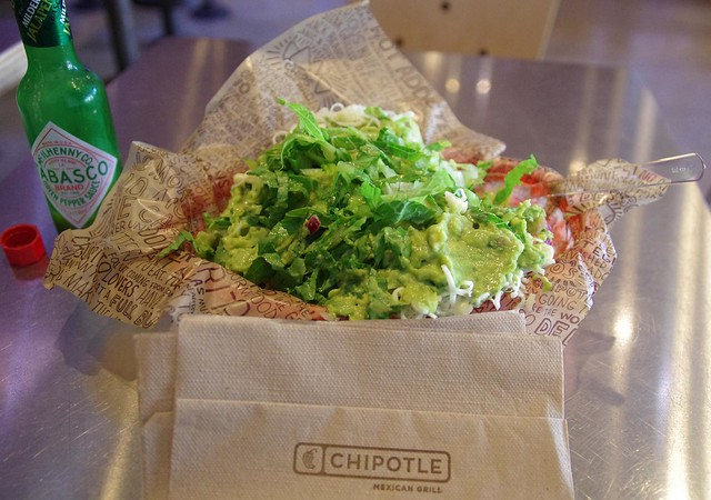 Chipotle mexican food - Santa Monica, California, USA