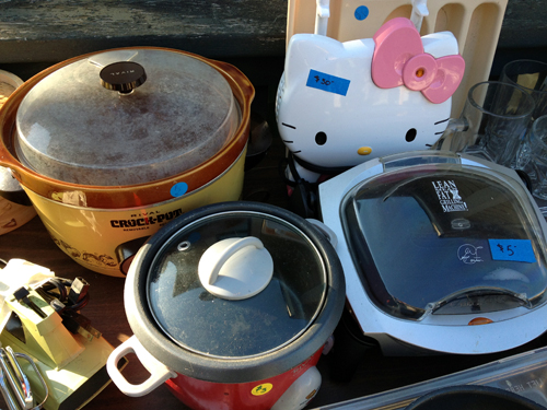 Crockpots and crap