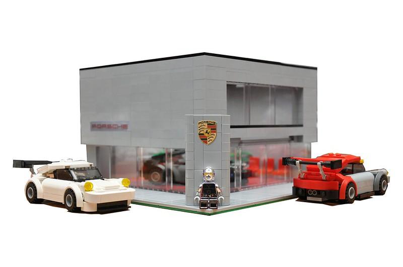 I Built A Porsche Dealership Out Of Lego Porsche Forum