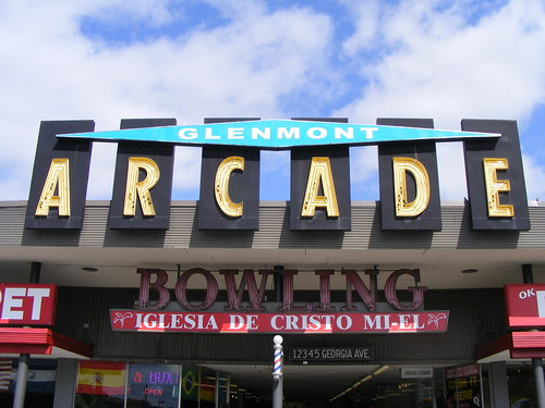 Glenmont Arcade Sign