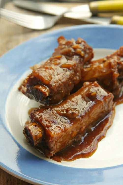 Char Siu Ribs Recipe — Dishmaps