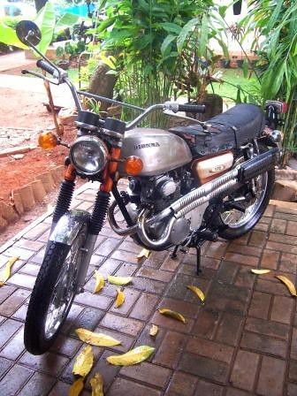 Honda CL 175 K4 Scrambler 98% Ori by Axial Showroom