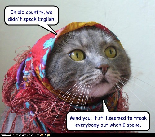 old world kitty by Jeff's people and stuff
