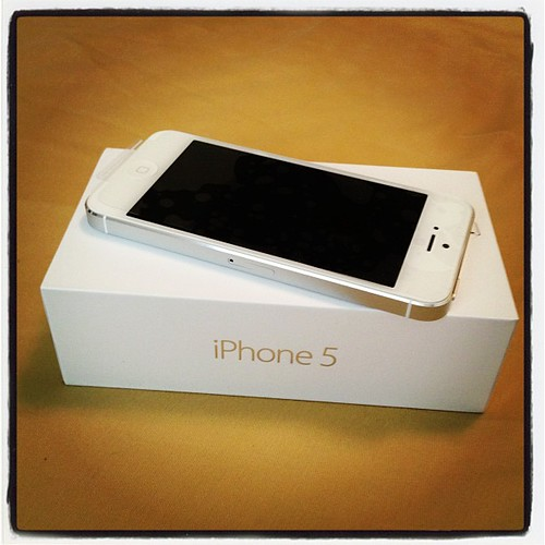 Hello, I'm #iPhone 5. #apple, #iphone5, #takenwithiphone, #white