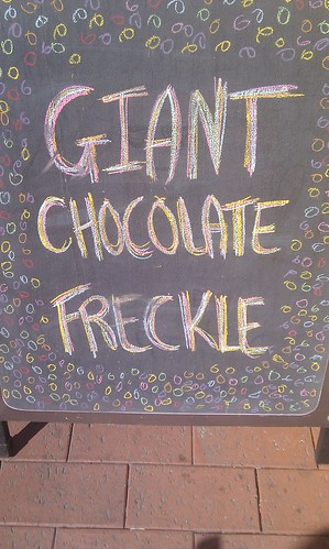 Giant Chocolate Freckle