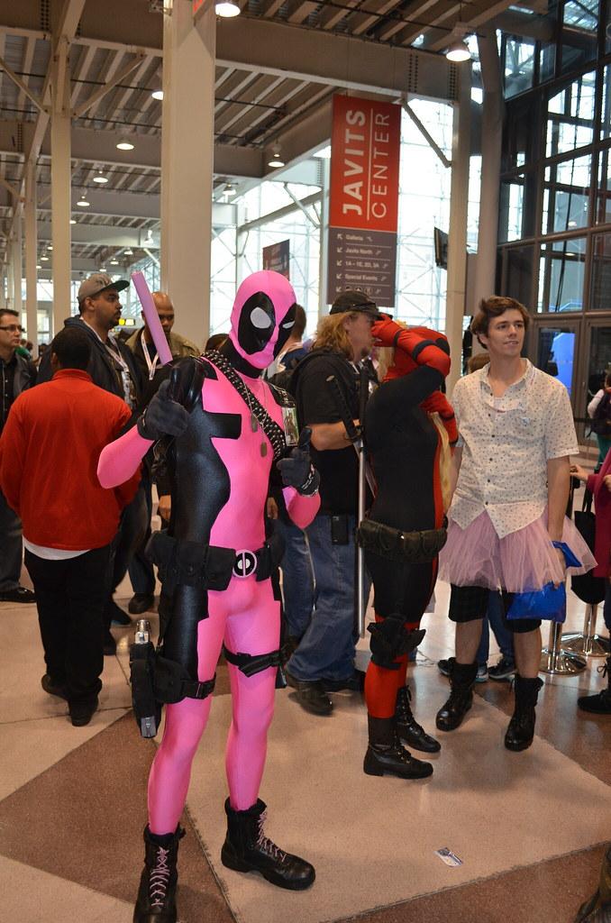Pink Deadpool Cosplay