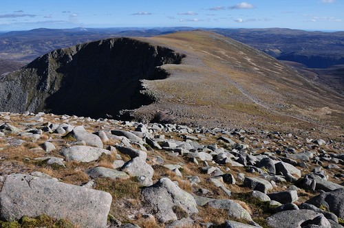 Corrie's edge; Lochnagar