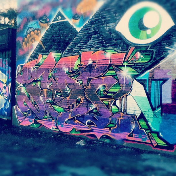 #graffiti #illuminati #art | Flickr - Photo Sharing!