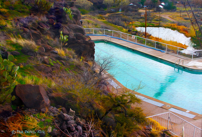 Arcosanti Swimming Pool