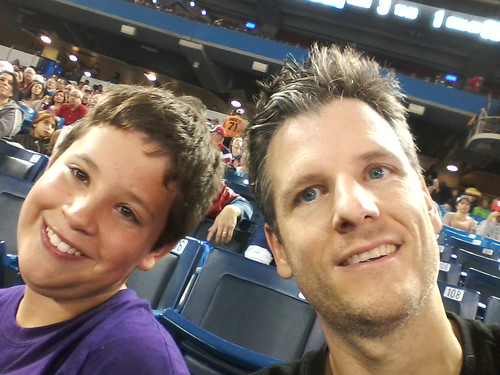 At the #argos game with my best man