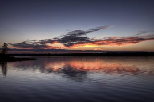 sky lake reflection nature water clouds sunrise landscape colorado denver chatfield facebook littleton d800 201210