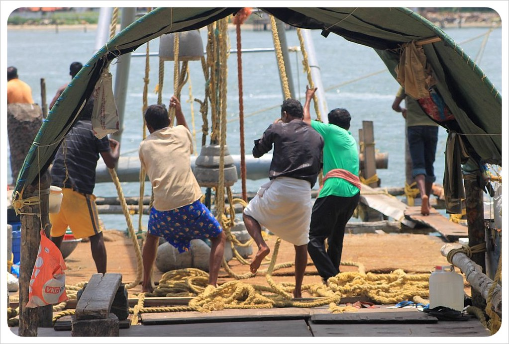 fort kochin fishermen