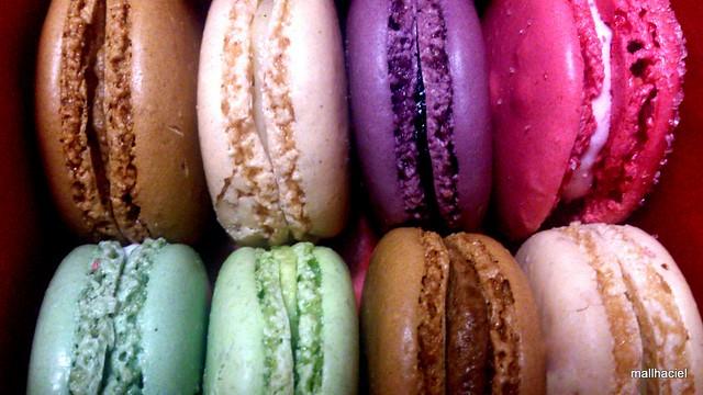 Lanvn x Ladurée macaron