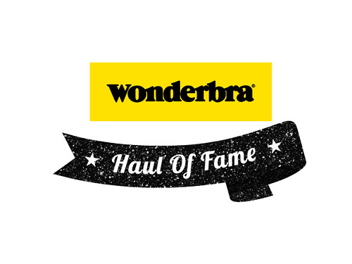 daisybutter - UK Style and Fashion Blog: wonderbra haul of fame, blogger ambassador