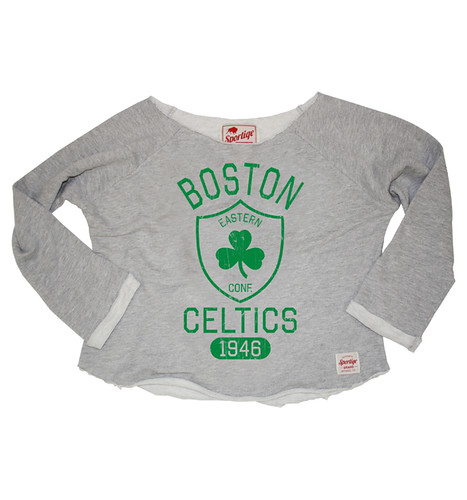 Boston Celtics Andrews Sweatshirt By Sportiqe Apparel