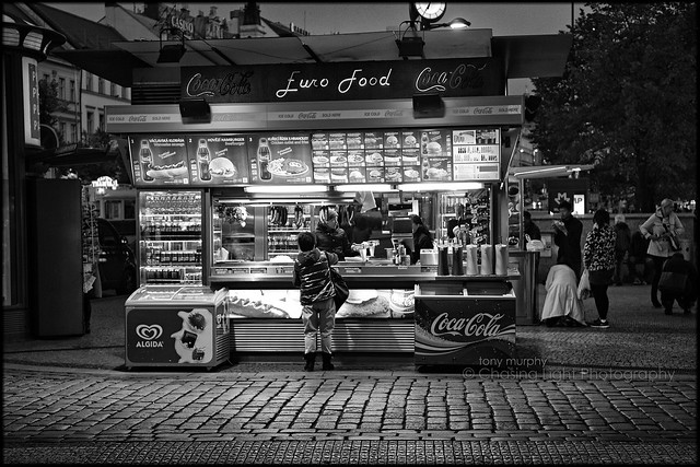 Fast Food Vendor - Prague TM8_1721
