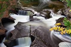 Abstract Waterfall-0645