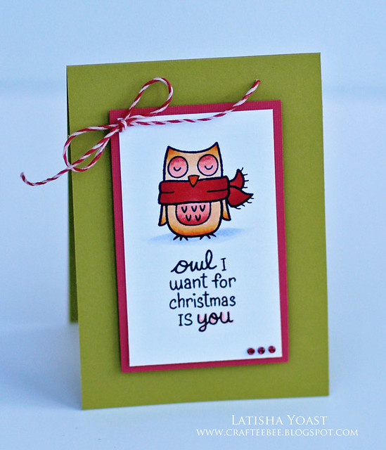 LawnFawn winterowl lyoast