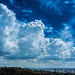 Cumulus Clouds Over Los Angeles by Jeremy Thomas Photography