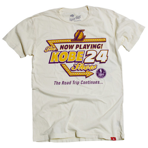 LAKERS KOBE ARROW SHIRT BY SPORTIQE