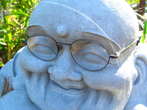 Bespectacled Buddha by JohnPlatt