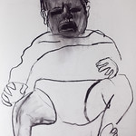 charcoal on paper, 2007