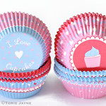 Bombay Duck cupcake cases