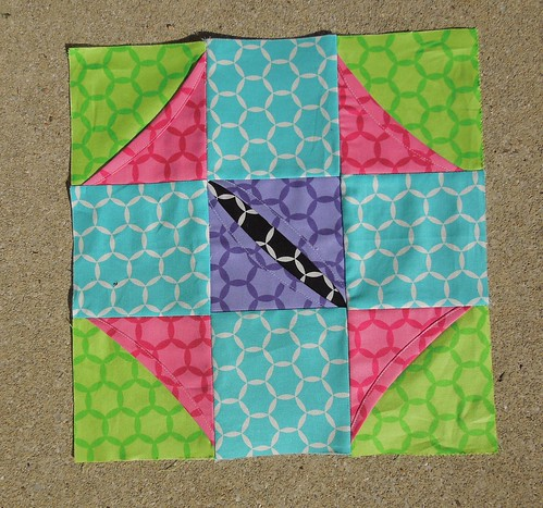 Cathedral Window Block 6 by Sew Crafted