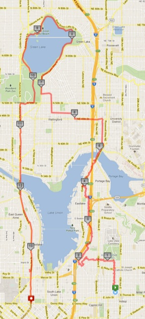 Today's awesome walk, 13.91 miles in 3:44