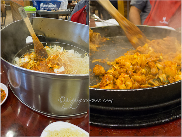 Yoogane 유가네 chicken galbi