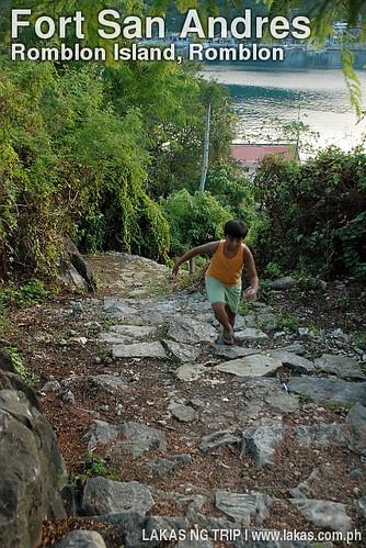 Stairs to Fort San Andres in Romblon Island, Romblon