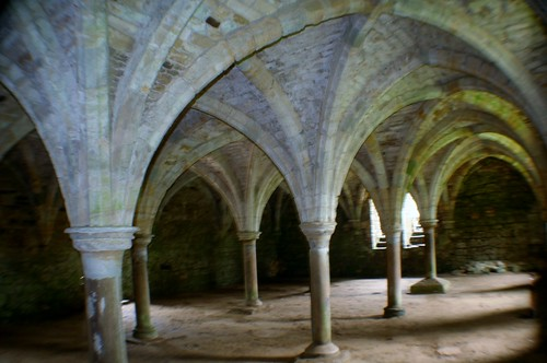 Crypt at Battle Abbey