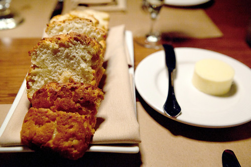 Whiskey bread and Vermont butter