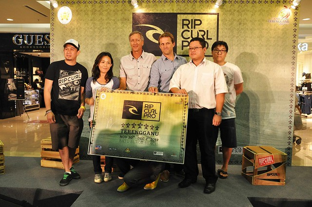 Official Announcement of Terrenganu Rip Curl Pro 2012