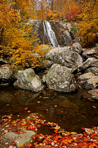 Shenandoah:  2nd Upper Whiteoak Falls