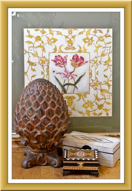 Ceramic acorn & boxes