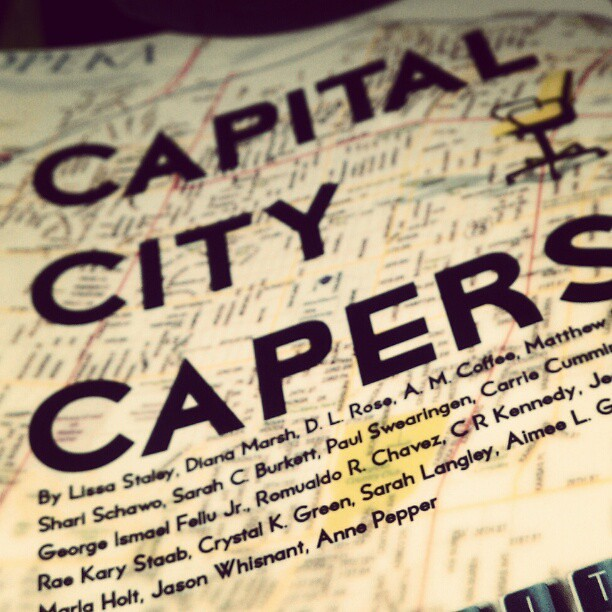 Takes place in my city, written by people in my city #capitalcitycapers #Topeka #FMSPhotoADay #FMSPhotoADayOct