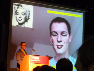 Marius Watz (with Kyle McDonald / Marilyn Monroe)