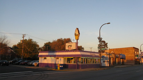 Premo's Drive In on West 95th Street.  Oak Lawn Illinois.  October 2012. by Eddie from Chicago
