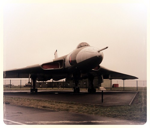 Vulcan 607 at RAF Waddington