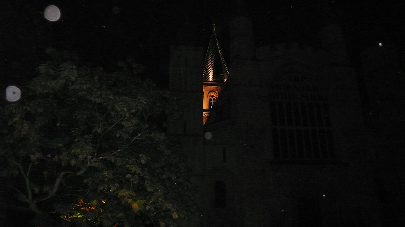 Illuminated Rochester Cathedral