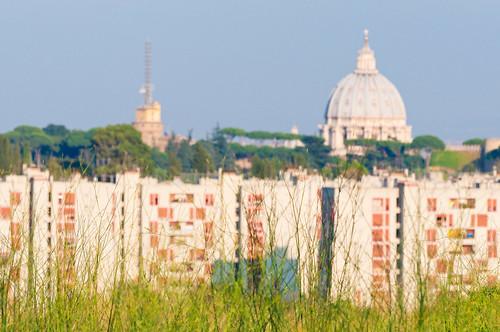 la cupola di Valle Aurelia